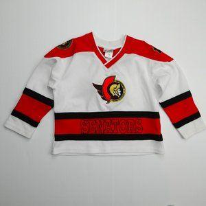 Mighty Mac Ottawa Senators Boys 3X 3T Jersey NHL